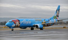 "Alask Airlines' ""Spirit of Disney II"" 737-900 N318AS"