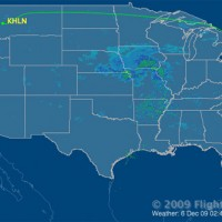 CO 784 flight path.