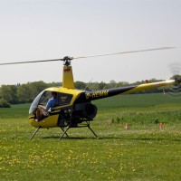 A Robinson R22, similar to the one which wrecked. Photo by mwboeckmann