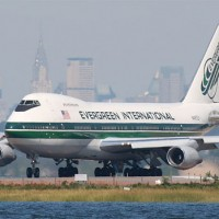 Evergreen freighter