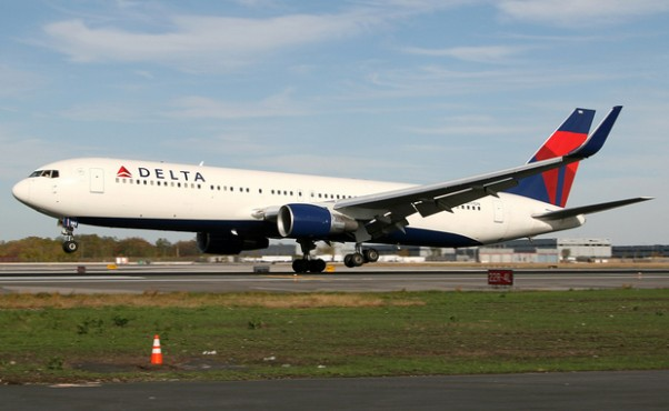A Delta Air Lines Boeing 767-300ER lifts off at JFK Airport in New York. (Photo by Tom Alfano)