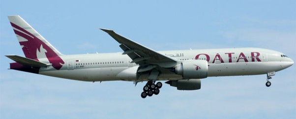 Qatar Airways 777-200LR A7-BBF
