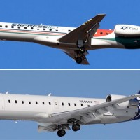 Skywest ERJ-145LR and SkyWest CRJ-200ER