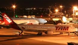 TAM Airbus A330 and LAN Boeing 767