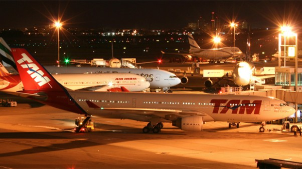 TAM Airbus A330 and LAN Boeing 767