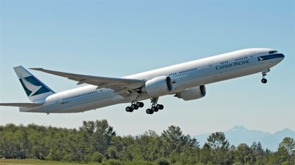 Cathay Pacific Boeing 777-300ER N1788B B-KPA