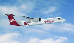 Horizon Airlines University of Montana Dash 8 Q400 plane