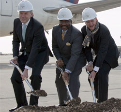 Delta JFK Airport Terminal 4 Ground Breaking