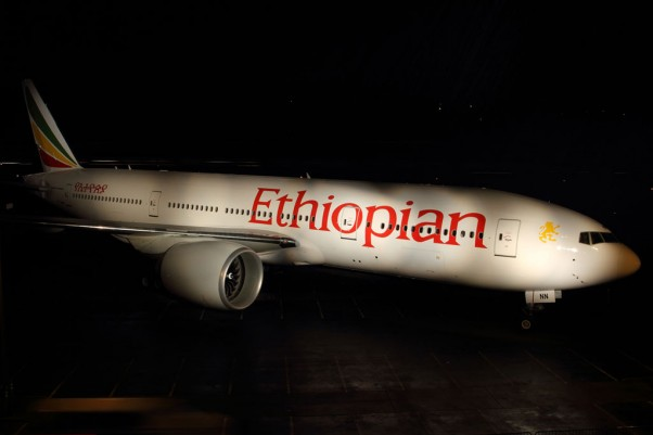 Ethiopian Airlines ET-ANN Boeing 777-200LR