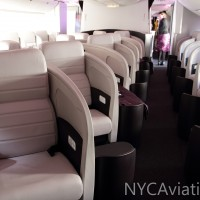 Air New Zealand 777-300ER business premier class