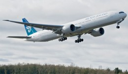 Air New Zealand first Boeing 777-300ER ZK-OKM