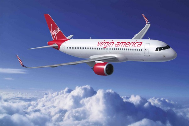 Virgin America A320neo.