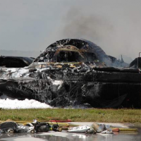 B-2 Bomber Crashes at Anderson Air Force Base in Guam
