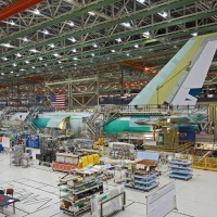 Boeing 747-8 under construction