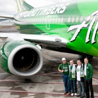 Alaska Airlines Portland Timbers 737-700 N607AS