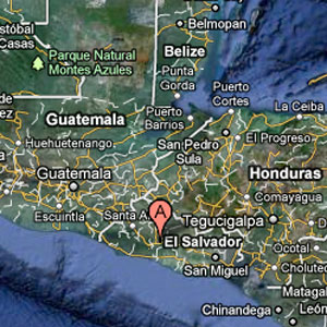El Salvador Pulsar Group plane crash map