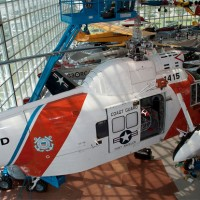 US Coast Guard Sikorsky HH-52A helicopter at Museum of Flight in Seattle.