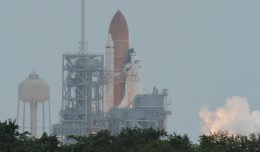 Space Shuttle Atlantis lifts off for last time STS-135