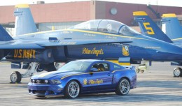 2012 Ford Blue Angels Mustang