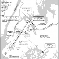 Approach plate for LGA's Express Visual 31. (click to enlarge)