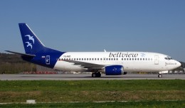 Bellview Airlines 737 similar to the one in the 2005 crash [By Rolf Wallner via Wikimedia Commons]