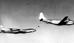 KC-97 refueling a B-47 bomber