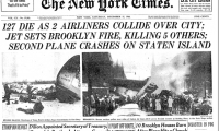 The New York Times front page following the deadly midair collision in NYC