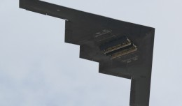 B-2 Spirit, one aircraft of which will not be seen in the 2012 airshow season. (Photo by Brandon Farris)