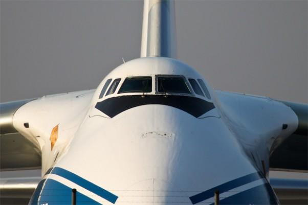 Photo of the Day: A Volga-Dnepr Antonov An-124 RA-82078 staring at us from Leipzig. Photo by Sebastian G.