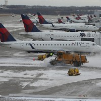 Snowy Delta action at MSP