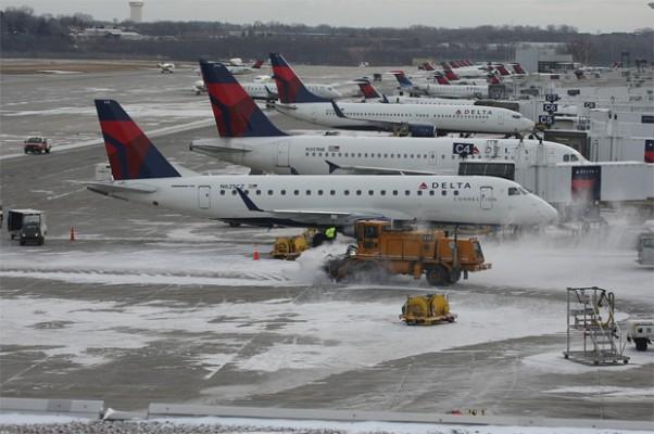 Snowy Delta action at MSP