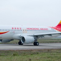 First Airbus A320 for Hong Kong Airlines