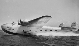 Pan Am&#039;s Dixie Clipper (NC18605) carried President Franklin D. Roosevelt to Casablanca. (Photo by Pan Am)