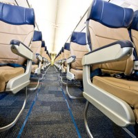 Southwest Airlines new Evolve interior seats.
