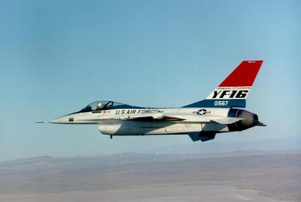YF-16 No. 1 [Photo Credit: USAF]