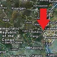 The plane crashed in eastern Congo