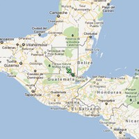 The helicopter went down in the village of Quebrada Seca, near Guatemala's border with Belize