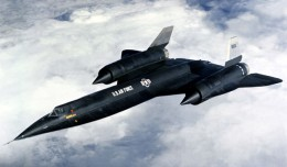 The US Air Force Lockheed A-12, Serial Number 06932, looks very similar to the later SR-71 Blackbird. (Photo by US Air Force)
