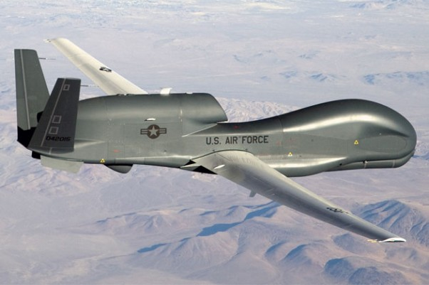 First flight of the Global Hawk took place on Feb. 28, 1998