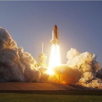 Space Shuttle Discovery launches for the last time. [Image: NASA]