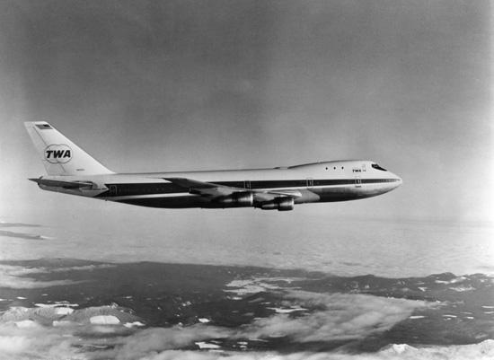twa 747
