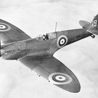 K9795, the 9th production Mk I Supermarine Spitfire, with 19 Squadron in 1938