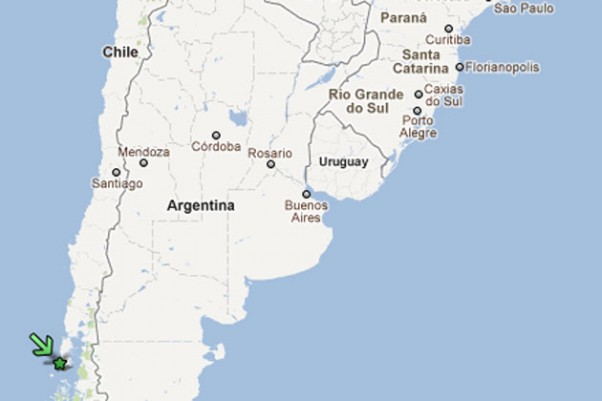 The plane went down in the Piedra Blanca area of Chiloe Island, part of an archipelago located off the coast of Chile in the Los Lagos Region