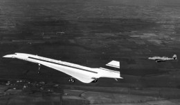 Concorde's first test flight