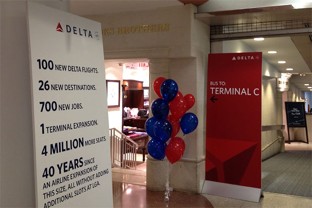 Delta S Massive Laguardia Airport Expansion Takes Off