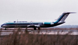 An Eastern Air Lines Douglas DC-9 similar to that which was hijacked on this day in 1970