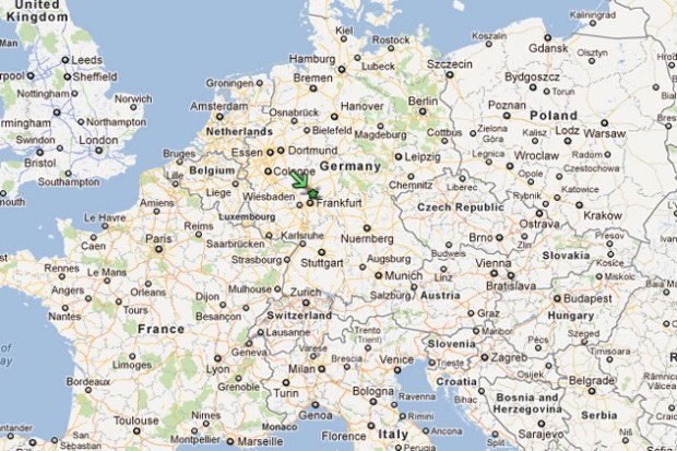 Business Jet Crash In Germany Kills Five NYCAviationNYCAviation - Germany map google