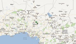 The helicopter went down in the central Nigerian city of Jos