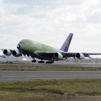 The first Airbus A380 for Thai Airways is the 87th copy of the superjumbo built so far. It will be registered HS-TUA