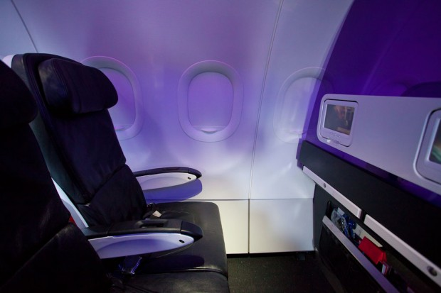 Virgin America's Main Cabin Select adds legroom and space